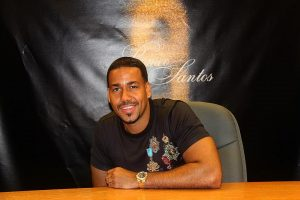 All smiles today with bachata singer  songwriter romeosantos duringhellip