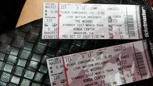 Friday night with the Starboy theweeknd at hondacenter in Anaheimhellip