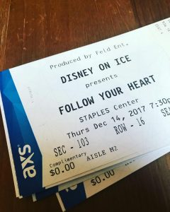 We are giving away tickets to opening night of disneyoniceshellip