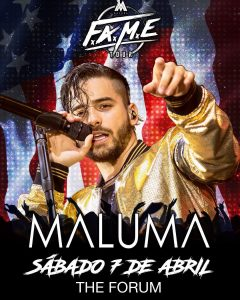 Just announced and on sale this week maluma April 7hellip