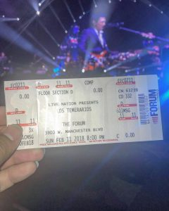 Closing out the weekend with lostemerarios77 at theforum LosTemerarios TheForumhellip