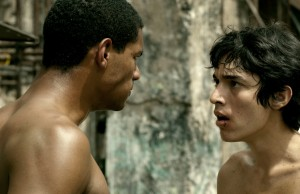 Eliú Armas, left, and Fernando Moreno star in Hermano.  (Courtesy of Music Box Films)