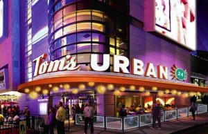 Consumer Concept Group (CCG) and AEG announced that the Denver-based restaurateurs would be bringing three of their most popular restaurants to the L.A. Live - Smashburger, Live Basil Pizza and Tom's Urban 24 - next to Staples Center. (Courtesy of Consumer Concept Group)
