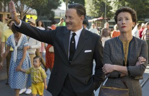 Saving Mr. Banks, which stars Tom Hanks and Emma Thompson, releases Dec. 20. (Courtesy of Disney)