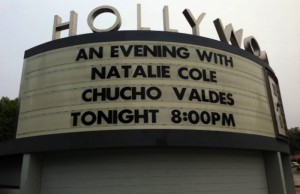 Both Natalie Cole and Chucho Valdes performed on Aug. 14th at the Hollywood Bowl. (Humberto Capiro/Living Out Loud LA)