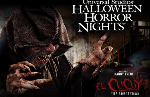 """Universal Studios Hollywood brings to life the fearful legend of """"El Cucuy: The Boogeyman"""" Exclusively at """"Halloween Horror Nights."""" It's narrated by actor Danny Trejo. (Image Courtesy of Universal Studios Halloween)"""