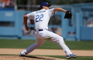 Dodgers' Clayton Kershaw today was named the recipient of the 8th Annual Roy Campanella Award. (Courtesy of Rafael Orellana)