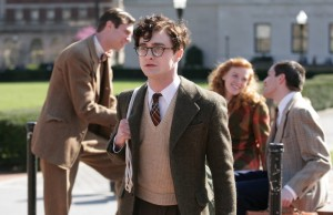 Daniel Radcliffe as Allen Ginsberg in Kill Your Darlings. (Jessica Miglio/Sony Pictures Classics)
