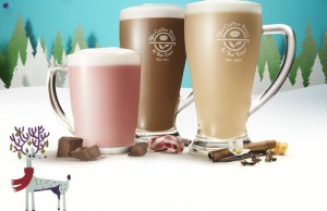 The Coffee Bean & Tea Leaf is presenting new Toffee Nut beverages for the holidays. (Courtesy of The Coffee Bean & Tea Leaf®)