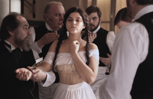 Soko as Augustine in Alice Winocour's Augustine. (Courtesy of Music Box Films)