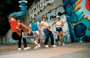 Cast of Wild Style. (Courtesy of Music Box Films)