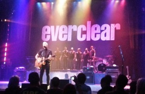 Everclear performing on Monday, October 14, 2013 at The Pasadena Playhouse. (Jacqueline Martinez/Living Out Loud LA)