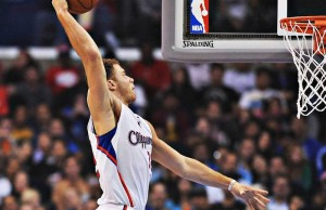 Blake Griffin posted a double-double and led the team with 22 points and 12 rebounds. (Facebook/Los Angeles Clippers)