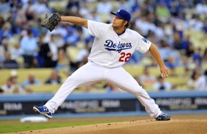 Left-handed pitcher Clayton Kershaw has won two NL Cy Young Awards. (Facebook/Los Angeles Dodgers)