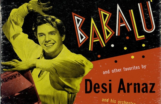 The American Sabor: Latinos in U.S. Popular Music exhibit at Cal State Los Angeles features several musical contributions of U.S. Latinos, such as this Desi Arnaz piece.