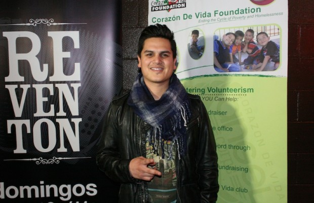 Regional Mexican artist Regulo Caro at the red carpet of the Helping Hands Holiday Fundraiser in Burbank, Calif. (Ramon Aviles/Living Out Loud LA)
