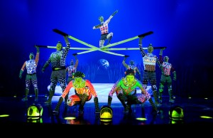 """Russian bars in Cirque du Soleil's """"Totem."""" (OSA Images)"""