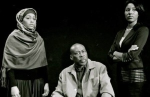 "(l-r) Simone Formerlycook Missick, Brent M. Jennings, and Diarra Kilpatrick of ""Closely Related Keys."""