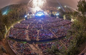 The Hollywood Bowl carries close 18,000 seats. (Facebook/Hollywood Bowl)