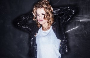 Sandra Bernhard brings her many hats to the Royce Hall stage on Saturday, February 15, 2014.