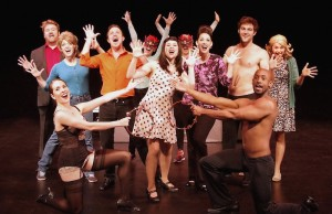 "The cast of ""50 Shades! The Musical."" (Ed  Krieger)"
