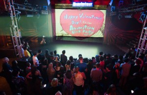 The Animation Valentine's Day Block Party took place Thursday, February 13, 2014 at The Troubadour. (Jazzmine Beaulieu)