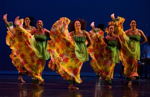 "Viver Brasil's ""Intersections/Ajê"" features original choreography and colorful costumes. (Tim Agler)"