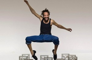 "Tap master Savion Glover ""STePz"" onto the stage in Northridge this Friday. (Lois Greenfield)"
