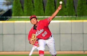 Julio Urias is a pitching prospect of the LA Dodgers. (Great Lake Loons)