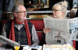 Jim Broadbent and Lindsay Duncan star in Le Week-End. (Music Box Films)