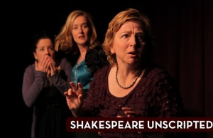 """Shakespeare UnScripted"" begins preview performances on March 20 upstairs at Pasadena Playhouse. (Impro Theatre)"