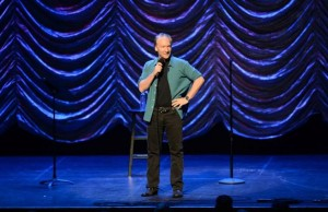 Bill Maher during his comedy show Friday night at Nokia Theatre L.A. Live. (Bernstein Associates)
