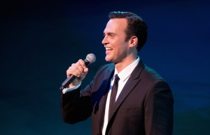 Cheyenne Jackson performing on Saturday, April 26 at Walt Disney Concert Hall. (Craig T. Mathew/Mathew Imaging)