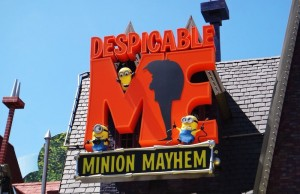 Despicable Me: Minion Mayhem at Universal Studios Hollywood. (Doug Kline/Living Out Loud LA)