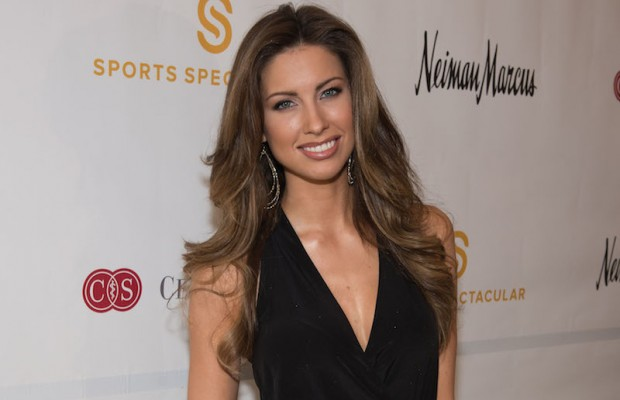 Katherine Webb attends the Cedars-Sinai Sports Spectacular Women's Luncheon & Fashion Show at Beverly Hills Hotel on Tuesday, April 8, 2014. (Thomas Neerkan)