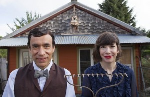 "Watch ""Portlandia"" with Fred Armisen, pictured (left) with Carrie Brownstein in an episode from season four, on Saturday. (Augusta Quirk/IFC)"