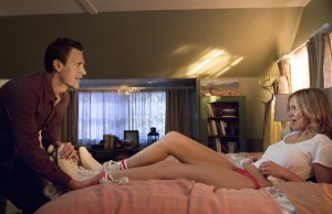 Jason Segel and Cameron Diaz star in Sex Tape. (Columbia Pictures)