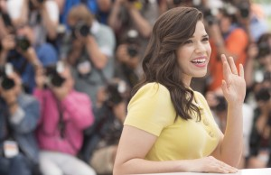 Actors like America Ferrera (at the How to Train Your Dragon 2 photo call) flock to Cannes through May 25. (Nick Wall)