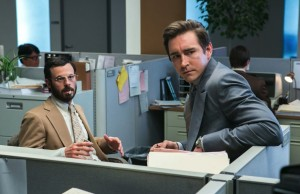 """Gordon Clark (Scoot McNairy) and Joe MacMillan (Lee Pace) in """"Halt and Catch Fire"""" (Tina Rowden/AMC)"""