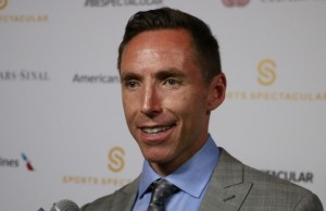 Steve Nash received the Spirit Award at the 29th Anniversary Sports Spectacular. (Gabriel Preciado/Living Out Loud LA)