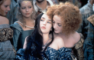 Isabelle Adjani and Dominique Blanc in Queen Margot. (Cohen Media Group)