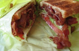Bacon makes everything better, from sandwiches to salads and everything in between. (Ollylian/Wikipedia Commons)