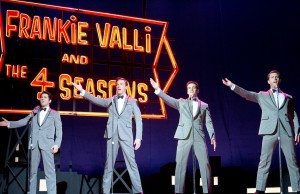 John Lloyd Young, Erich Bergen, Vincent Piazza and Michael Lomenda in Jersey Boys  (Keith Bernstein/Warner Bros. Pictures)
