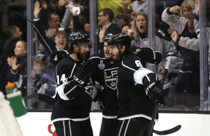 The Kings head to Chicago with a 2-0 lead in the Stanley Cup Finals. (kings.nhl.com)