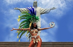Let a troupe like the L.A. Samba Dancers spice up your World Cup party. (lasambaentertainers.com).