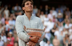 Rafael Nadal wins an unprecedented ninth French Open title. (FFT)