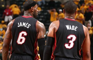 LeBron James, Dwyane Wade and the Heat take on Tim Duncan, Tony Parker and Spurs in the NBA FInals. (Heat Facebook)