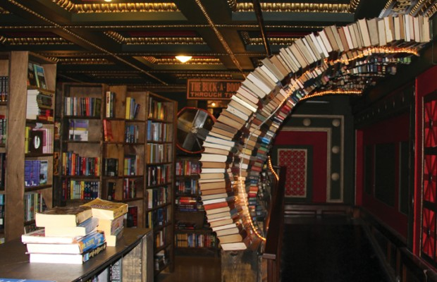 Have an adventure exploring the Last Bookstore. (Marvin Vasquez/Living Out Loud LA)