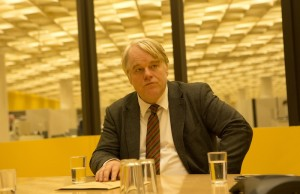 Philip Seymour Hoffman as Günther Bachmann in A Most Wanted Man (Kerry Brown)