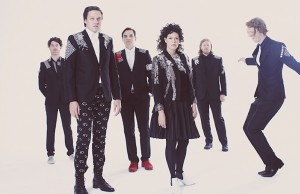 Arcade Fire puts on a tremendous live show. (Guy Aroch)